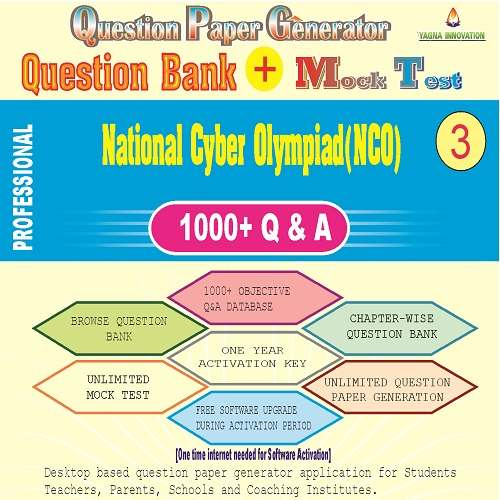 NCO (Class-3) Question Bank + Mock Test + Question Paper Generator