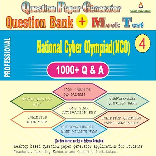 NCO (Class-4) Question Bank + Mock Test + Question Paper Generator