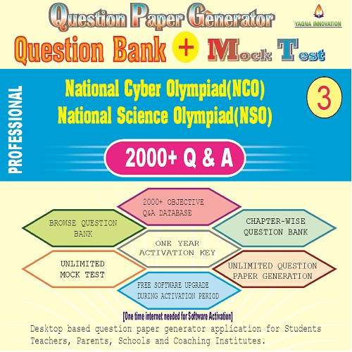 NCO/NSO (Class-3) Question Bank + Mock Test + Question Paper Generator