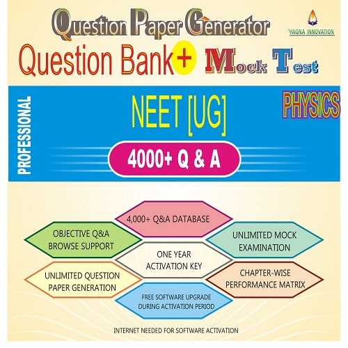 NEET Physics Question Bank + Mock Test + Question Paper Generator