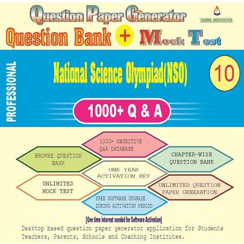 NSO (Class-10) Question Bank + Mock Test + Question Paper Generator