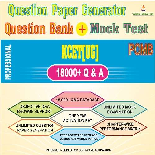 KCET/COMEDK QUESTION BANK