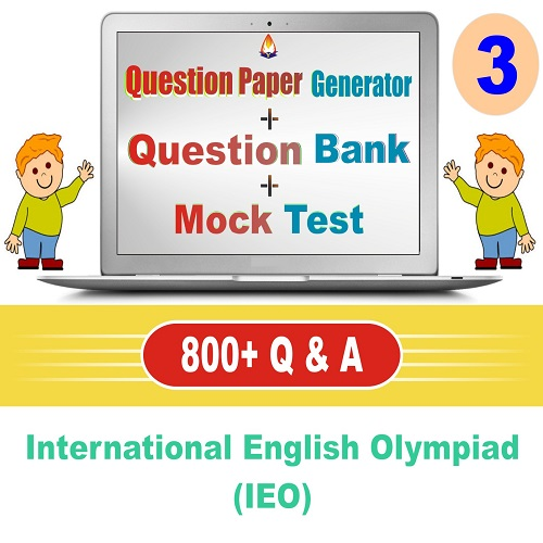 IEO (Class-3) Question Bank + Mock Test + Question Paper Generator